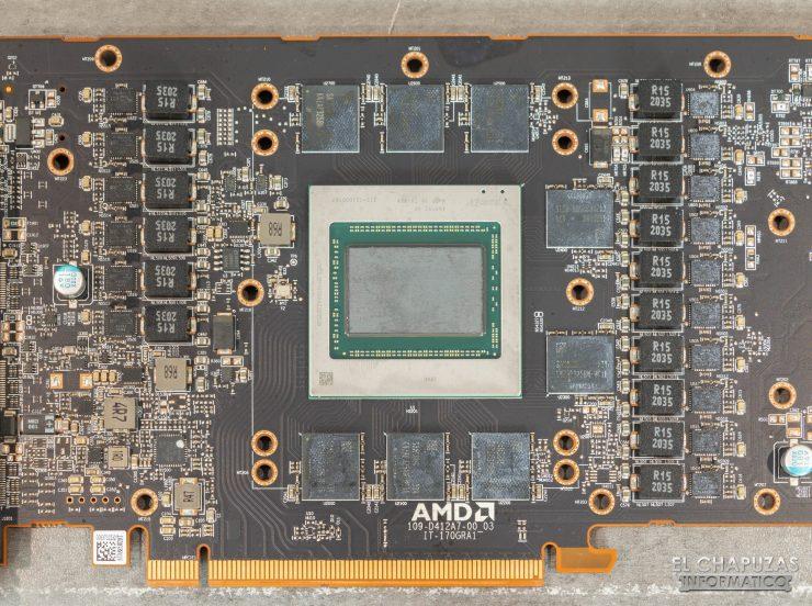 AMD Radeon RX 6900 XT - Núcleo, memorias y VRM