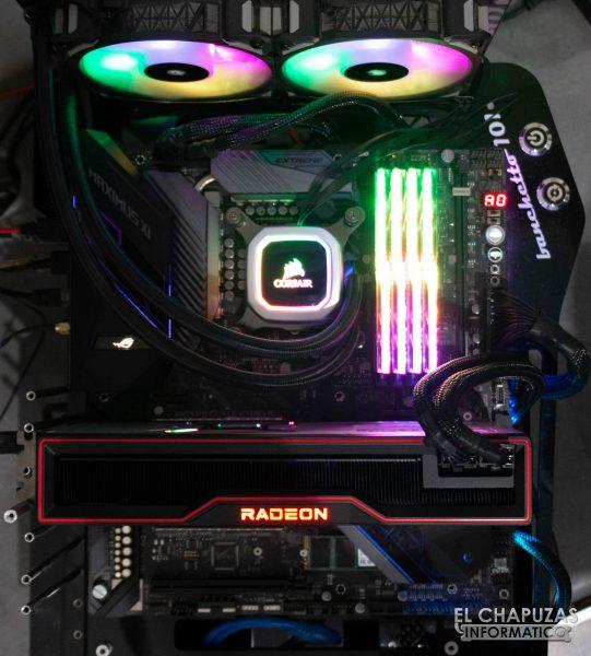 AMD Radeon RX 6900 XT - Equipo de pruebas 1