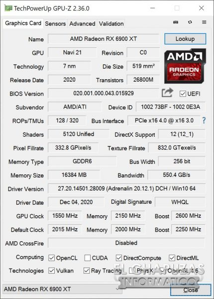 AMD Radeon RX 6900 XT - OC 2