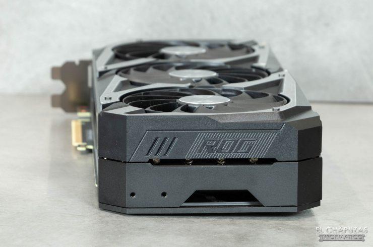 Asus ROG Strix GeForce RTX 3070 OC - Lado trasero