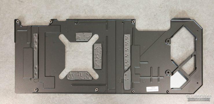 Asus ROG Strix GeForce RTX 3070 OC - Backplate