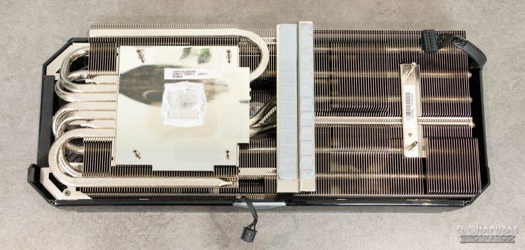Asus ROG Strix GeForce RTX 3070 OC - Disipador