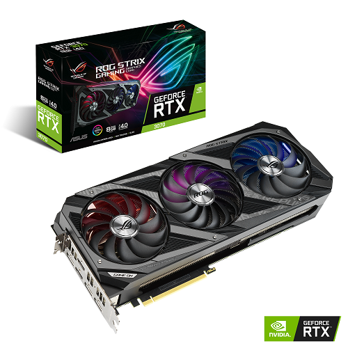 Asus ROG Strix GeForce RTX 3070 OC - Oficial