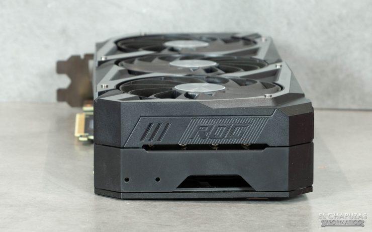 Asus ROG Strix GeForce RTX 3080 OC - Lateral trasero