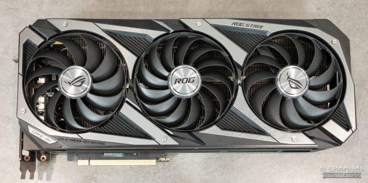Asus ROG Strix GeForce RTX 3090 OC - Vista superior