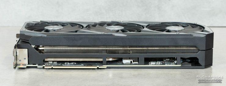 Asus ROG Strix GeForce RTX 3090 OC - Margen interior