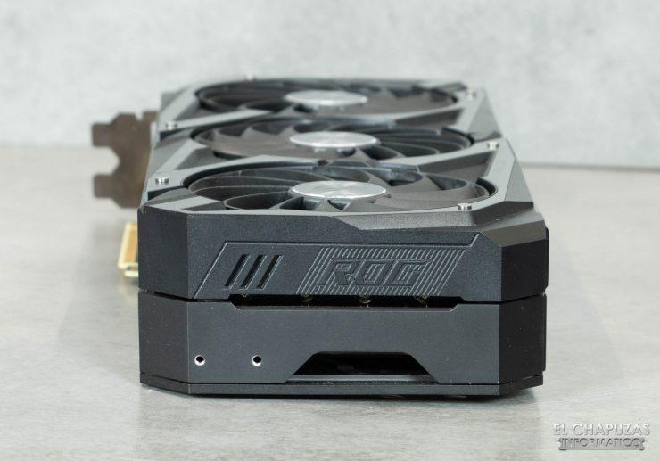 Asus ROG Strix GeForce RTX 3090 OC - Lado posterior