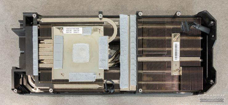 Asus ROG Strix GeForce RTX 3090 OC - Disipador
