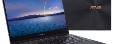 Asus ZenBook Flip S (UX371): 13.3″ OLED 4K con CPU Intel Tiger Lake en 1,2kg