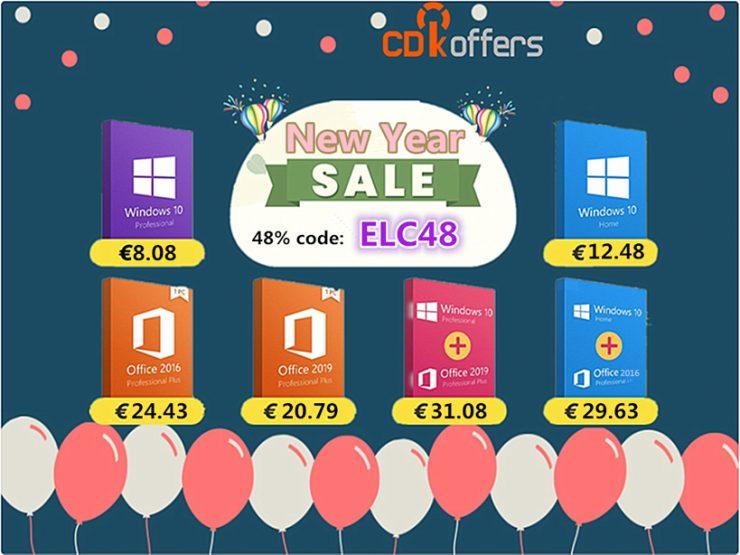 CDKoffers licencias Windows 10 y Office