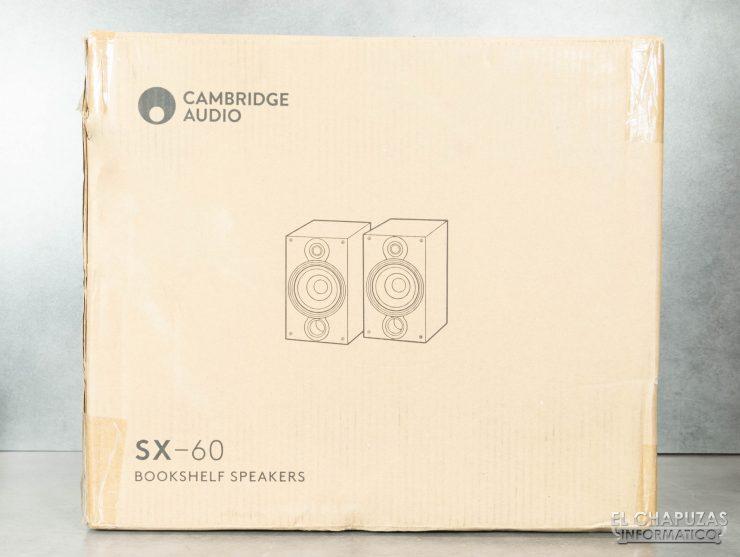 Cambridge Audio SX-60 - Embalaje exterior