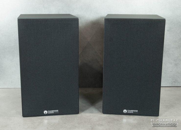 Cambridge Audio SX-60 - Vista frontal