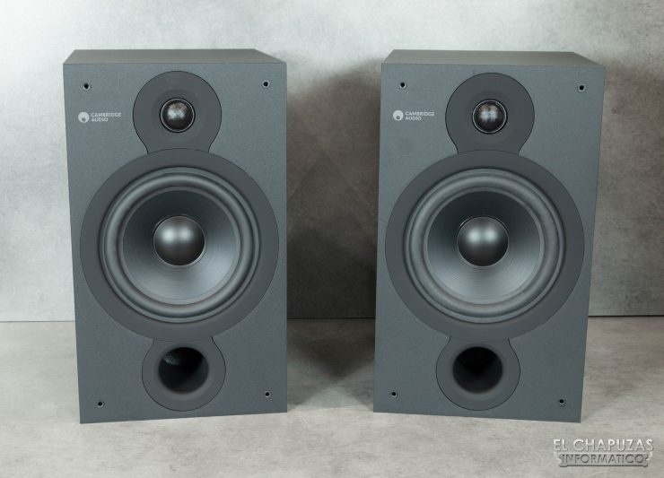 Cambridge Audio SX-60 - Vista frontal sin tapa