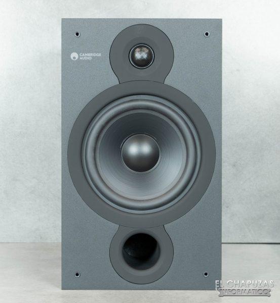 Cambridge Audio SX-60 - Vista frontal altavoz