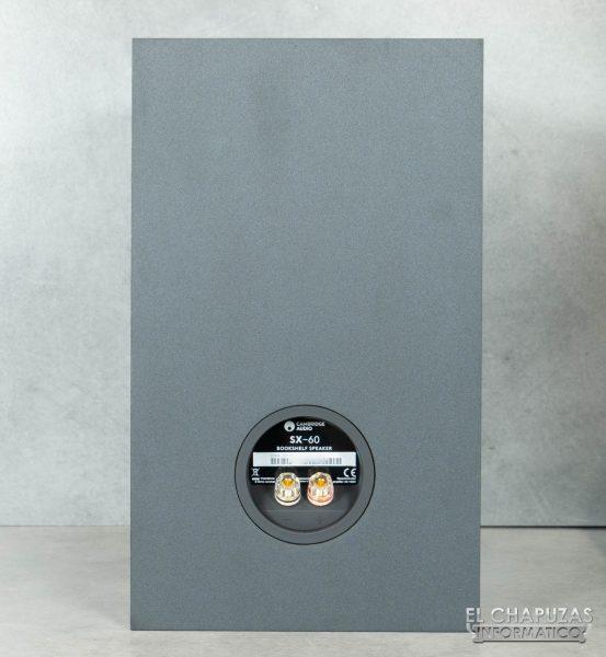 Cambridge Audio SX-60 - Vista trasera