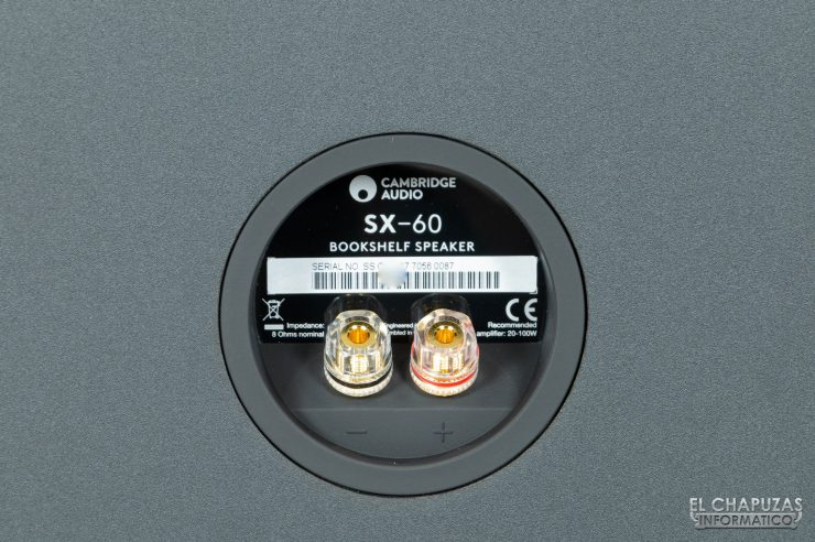 Cambridge Audio SX-60 - Conectores