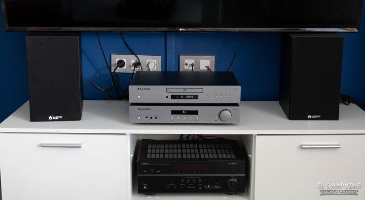 Cambridge Audio SX-60 - Pruebas
