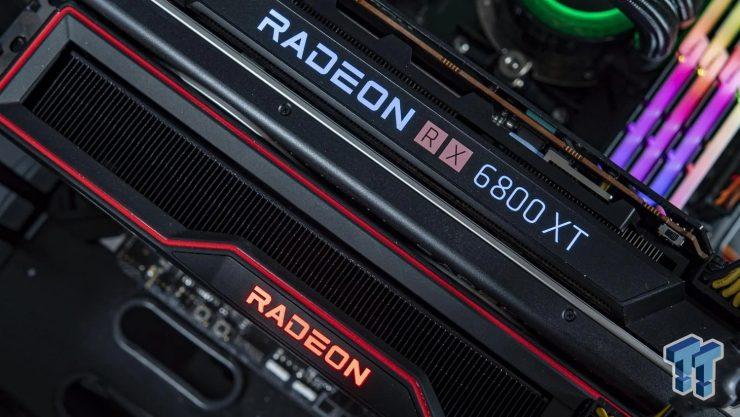 Crossfire de AMD Radeon RX 6800 XT