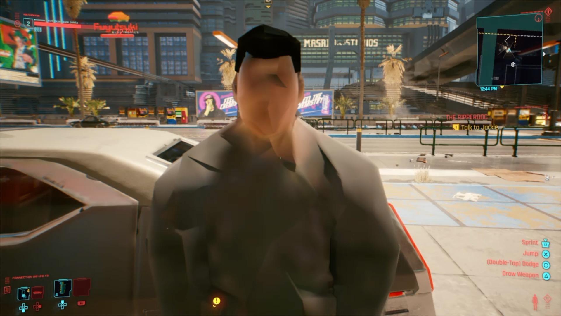 Cyberpunk 2077 en PlayStation 4 2 0