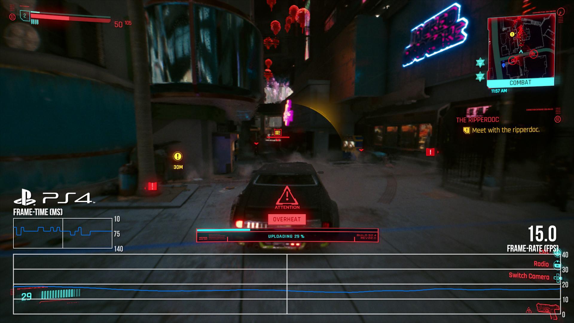 Cyberpunk 2077 en PlayStation 4 0