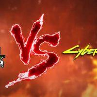 Una comparativa entre Cyberpunk 2077 y Grand Theft Auto V deja claro quién manda