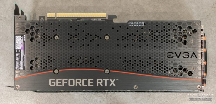 EVGA GeForce RTX 3060 Ti FTW3 Ultra - Backplate