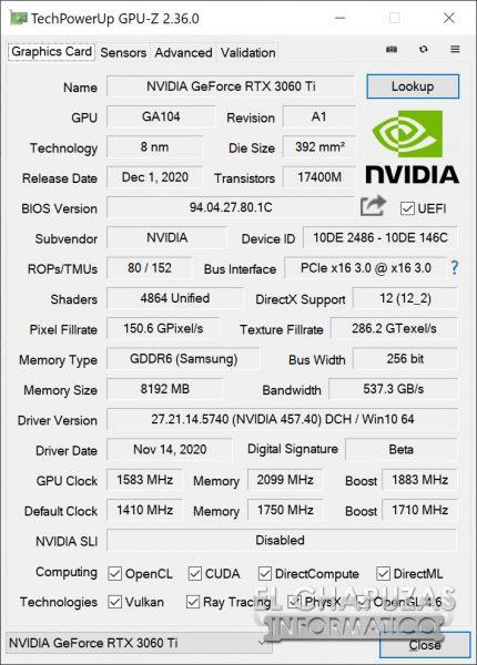 KFA2 GeForce RTX 3060 Ti EX 23 430x600 90