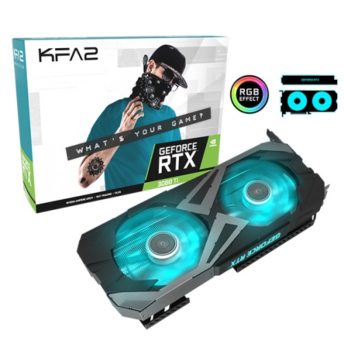 KFA2 GeForce RTX 3060 Ti EX Oficial 1