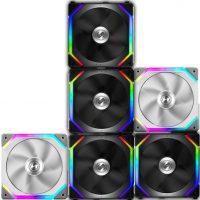 Lian Li ST120: Ventilador ARGB de alta presión estática para sistemas de refrigeración