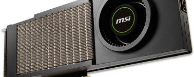 MSI anunció una GeForce RTX 3090 AERO que emula el diseño de la GeForce GTX 480