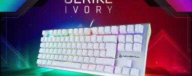 Newskill lanza sus teclado Serike Ivory junto a su variante en formato Tenkeyless (TKL)