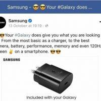 Samsung comienza a borrar la publicidad donde se mofaba de la venta del iPhone sin cargador