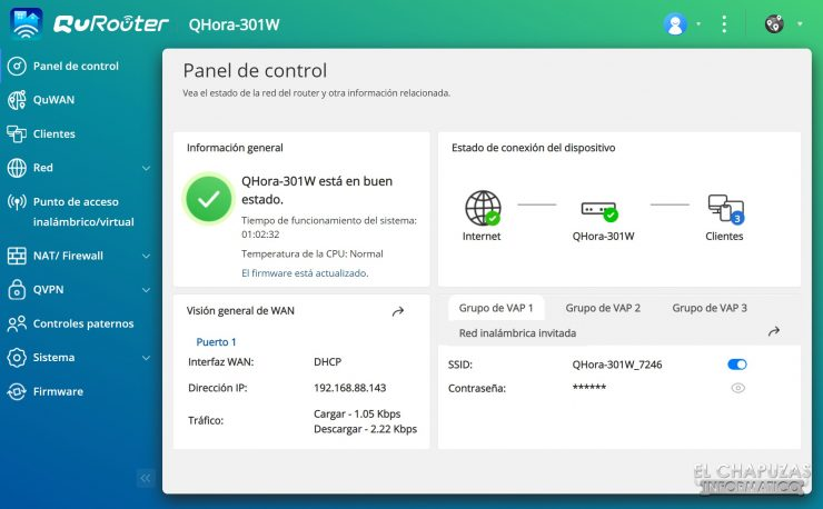 QNAP QHora-301W - Software 1