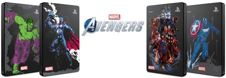 Seagate Game Drive Marvel Avengers