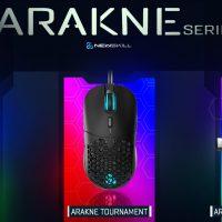 Newskill lanza sus ratones Arakne, Arakne Tournament y Arakne Elite
