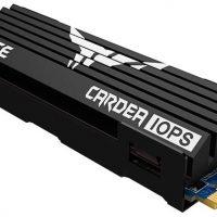 T-Force CARDEA IOPS: SSD M.2 NVMe PCIe 3.0 con disipador de grafeno