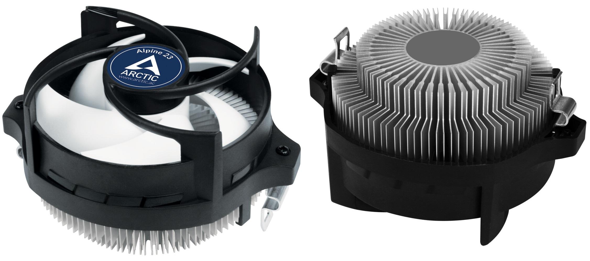Arctic Alpine 23: Disipador básico para procesadores AMD Ryzen