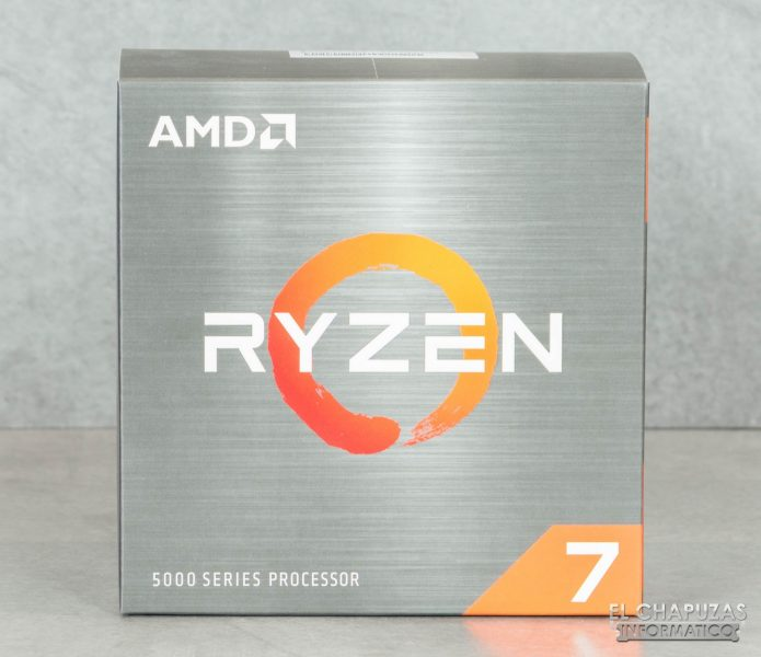 AMD Ryzen 7 5800X - Embalaje 1