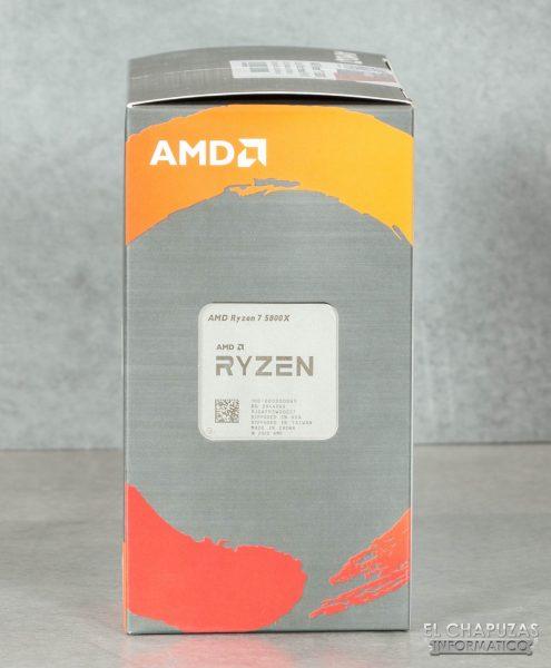 AMD Ryzen 7 5800X - Embalaje 2