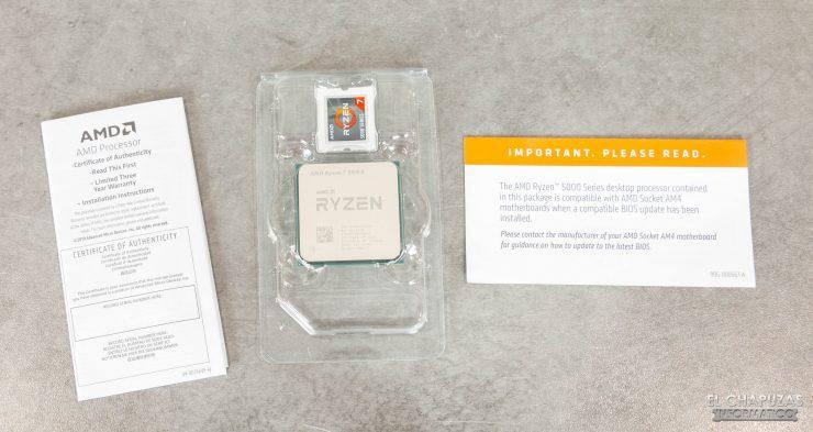 AMD Ryzen 7 5800X - Accesorios