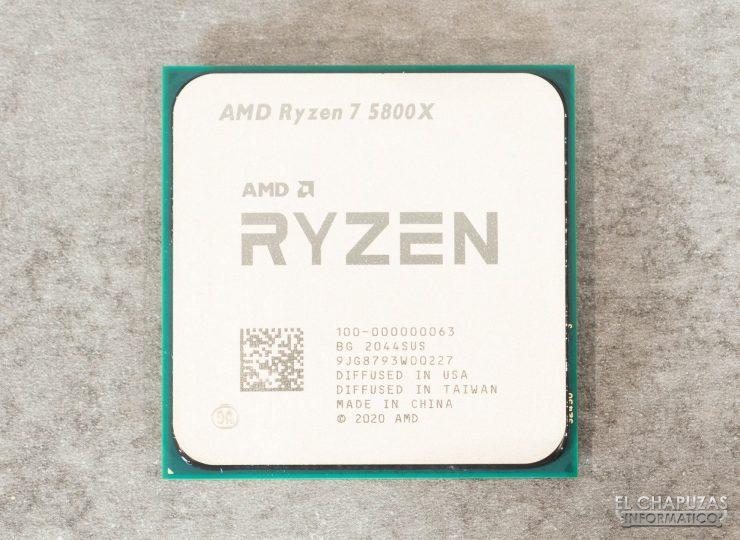 AMD Ryzen 7 5800X - Encapsulado