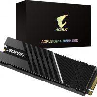 Gigabyte AORUS Gen4 7000s: SSD PCIe 4.0 @ 7000 Mbps con disipador recubierto de nanocarbono