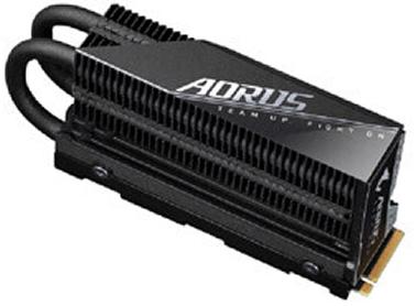 AORUS Gen4 7000s con radiador 1