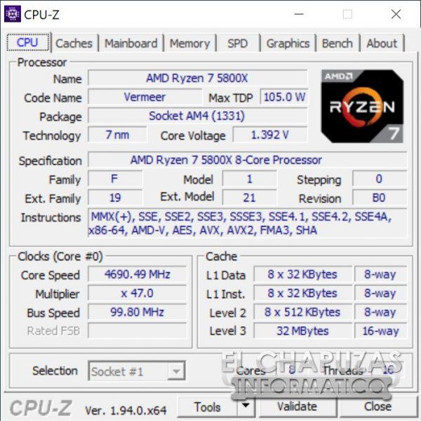 ASRock X570 PC Velocita - OC 2