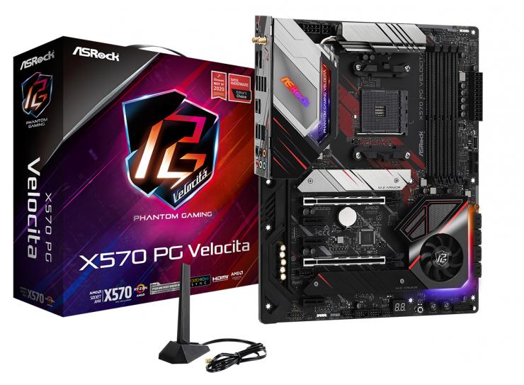 ASRock X570 PC Velocita - Oficial