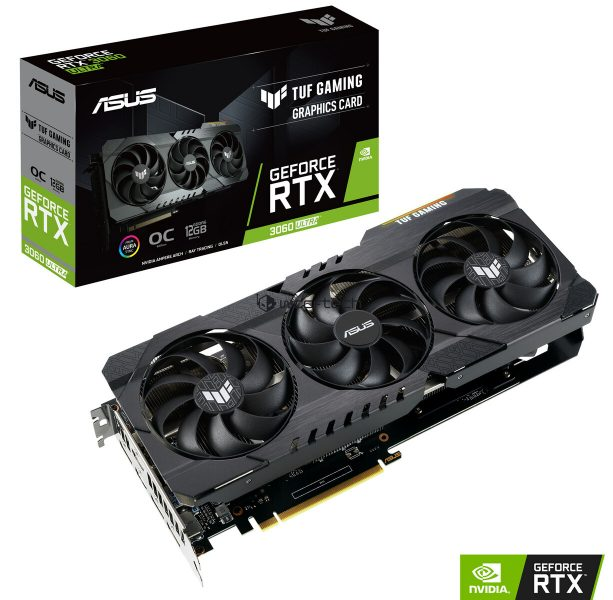 Asus TUF Gaming GeForce RTX 3060 Ultra 613x600 0