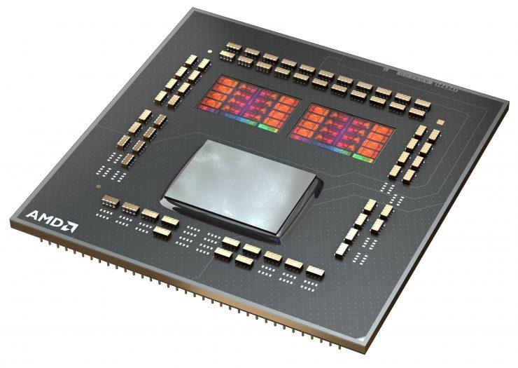 Diagrama AMD Ryzen 9 5900X y 5950X
