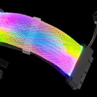 GELID Astra: Cableado de alimentación para el PC con iluminación LED ARGB integrada
