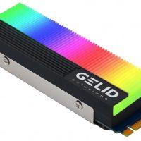 GELID GLINT: Disipador para SSDs M.2 con iluminación ARGB