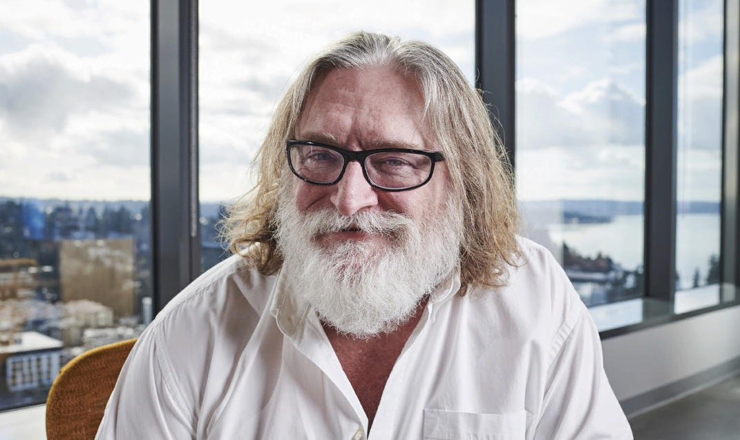 Gabe Newell Jefe de Valve 0